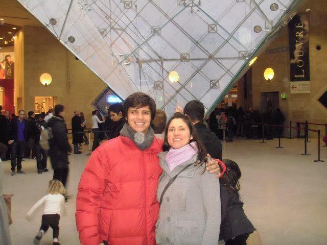 Daniel e Dany - Louvre