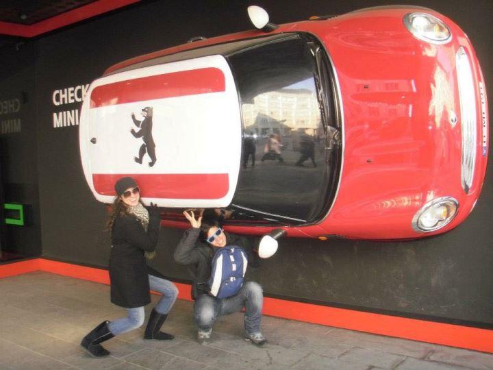 Dany e Daniel em Berlim - Mochilão