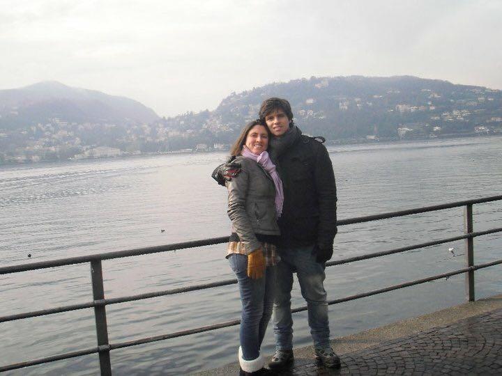 Dany e Daniel em Como