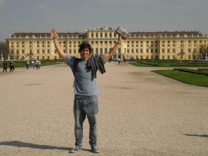 Palácio de Schönbrunn em Viena