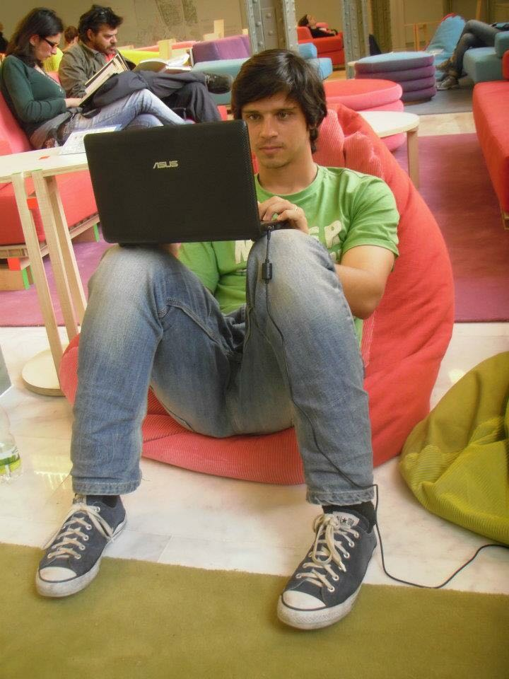 Daniel em Madri11.03.08