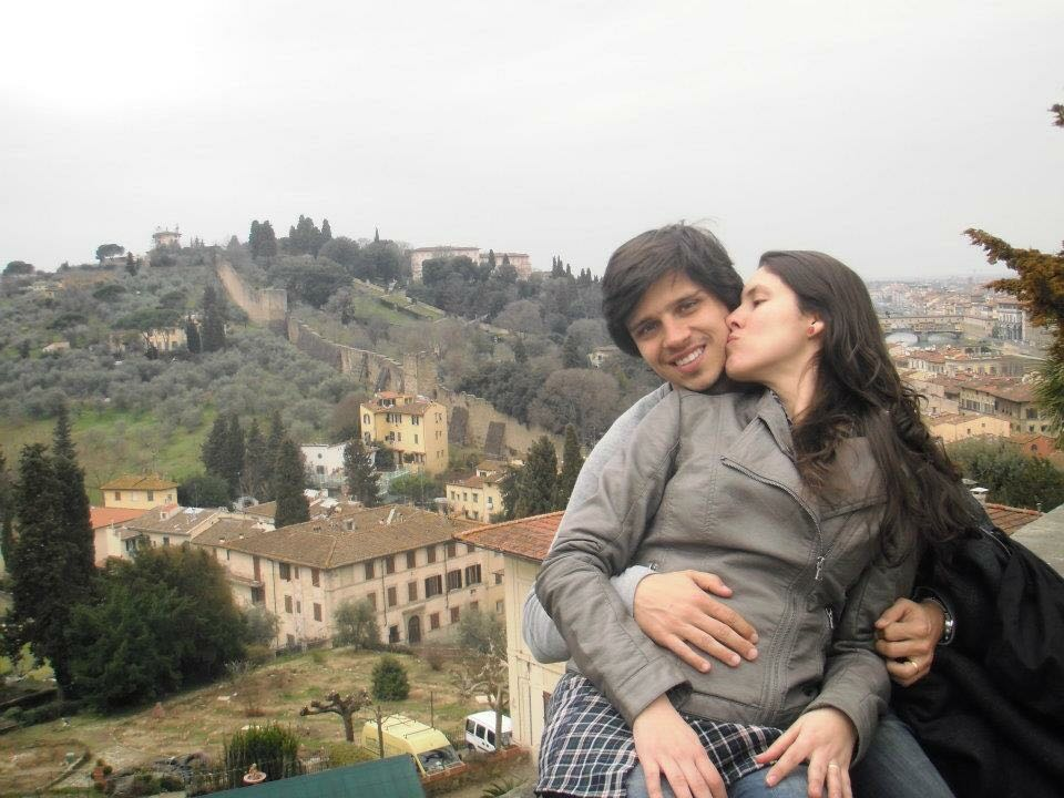 Dany e Dani em Florença