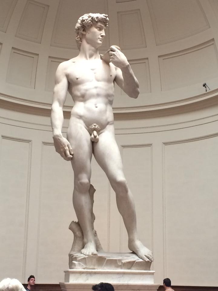 O Davi de Michelangelo