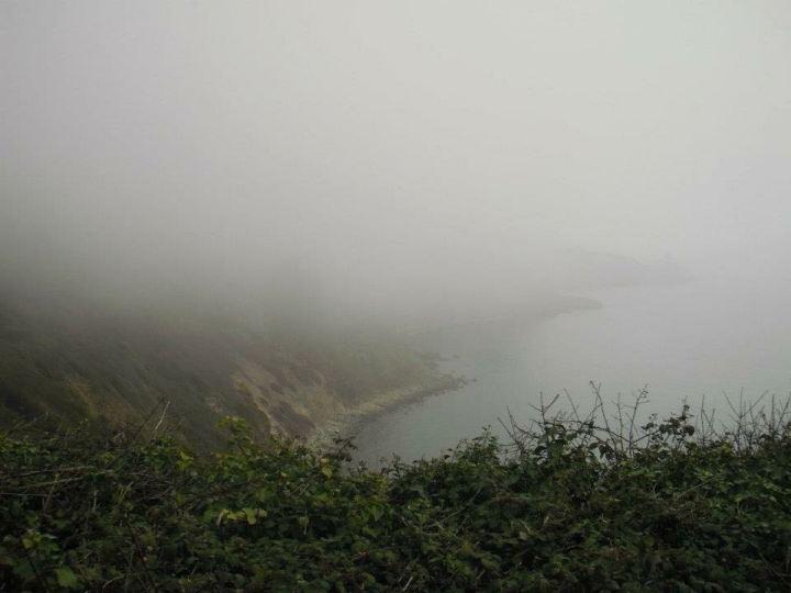 Nevoeiro na cidade