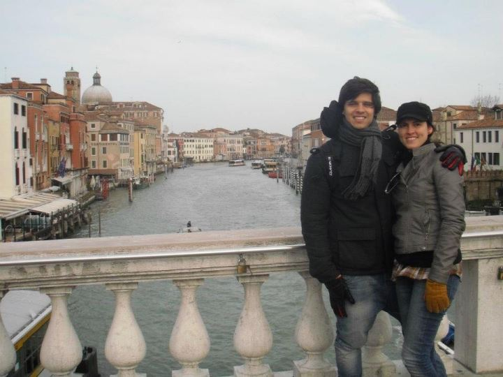 Ponte degli Scalzi em Veneza