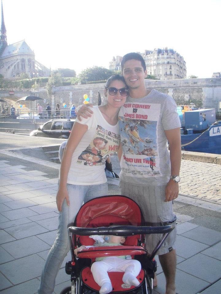 Recém chegados em Paris