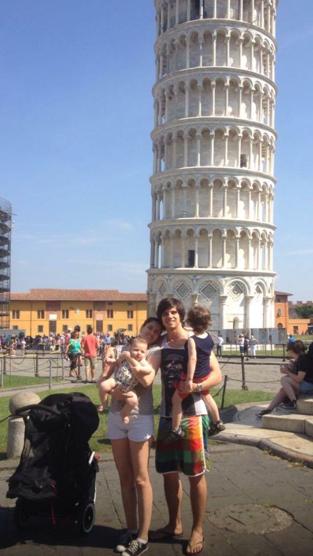 Família Monsanto em Pisa.
